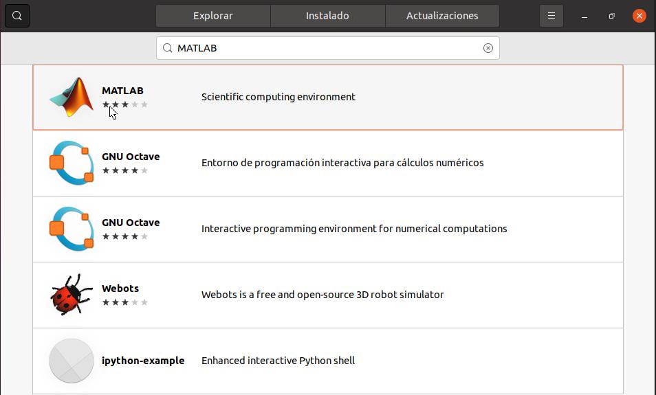 MATLAB-ubuntu-software